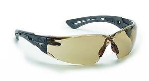 Bolle RUSH+ Safety Glasses - RUSHPTWI - UV Eye Protection - Twilight anti fog