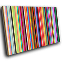 ZAB382 Colourful Cool Funky Modern Canvas Abstract Home Wall Art Picture Prints
