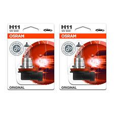 2x Toyota Auris Genuine Osram Original Low Dip Beam Headlight Bulbs Pair