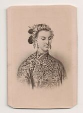 Vintage CDV Empress of China Jacotin Photo