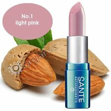Sante Organic Lipstick No. 1 Light Pink 5g Brand NEW