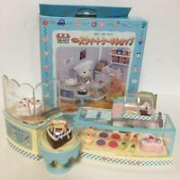 Sylvanian Families Sweet Cake Shop MI-04 Vintage Calico Critters Epoch With Box