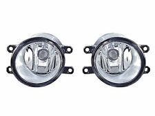 DEPO 2007-2011 Toyota Yaris 3D / 4D Replacement Fog Light Lamp Set Left + Right