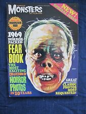 Famous Monsters 1969 Horror Packed Fear Book