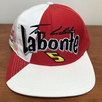 Terry Labonte Hat Snapback Cap NASCAR Racing Corn Flakes Auto Car Vintage 90s
