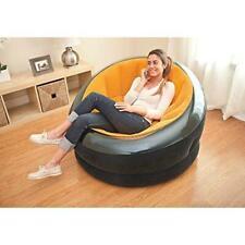 Intex Inflatable Empire Chair Orange Portable Lounge Sleeper Pool Seat