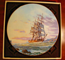 Royal Doulton Plate 1984 Journey'S End Limited Edition with Box