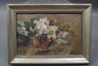 Anna Peters (1843 - 1926) - Kleiner Blumenstrauss in Vase - handsigniert
