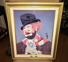 "RARE Red Skelton ""FREDDIE'S KITTY CAT"" (19""x23"") Framed Oil On Canvas - $5000"
