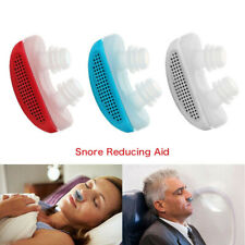 Electric Anti Snoring Device for Sleep Apnea Stop Snore Aid Stopper Purifier USB