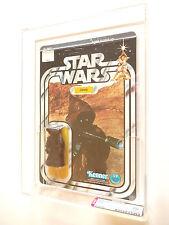 VINTAGE STAR WARS AFA 70+ (70/75/85) KENNER 1978 JAWA 20 BACK-A MOC UNPUNCHED !!