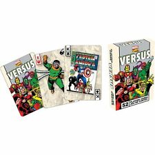 Retro Marvel Comics Versus Playing Cards Deck