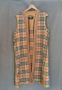 Vintage Burberry Wool Coat Lining (D2)