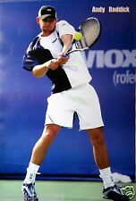 "ANDY RODDICK ""SMASHING TENNIS BALL"" POSTER - U.S. Open, Grand Slam Superstar"