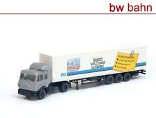 Roco Spur N 1855 MB Sattelzug mit Auflieger PKL Verpackungen LKW Neu