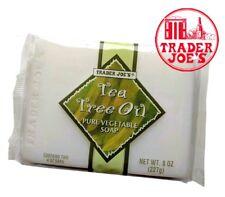 Trader Joe's TEA TREE OIL Pure Vegetable Soap (2 bars)