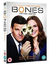 Bones complete season 12 final season Region 2 New DVD Fast Delivery