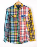 Desigual Herren Regular Fit Freizeithemd Größe L BAZ768