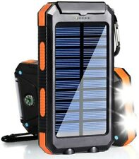Solar power bank, waterproof,20,000 mah,phone charger,portable charger,mobile