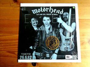 "MOTÖRHEAD. MEGA-RARE GREEN VINYL LP ""LET ME GO, ROCK' N ROLL"" (TOKYO' 82)!!!"