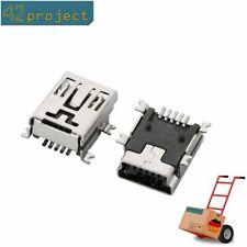 USB Buchse Typ Mini (5-polig) 90° abgewinkelt USB 2.0 Einbaubuchse SMD SMT