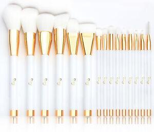 15pcs Make up Brushes Eye Shadow Eyelash Blusher Face Powder Foundation Brushes