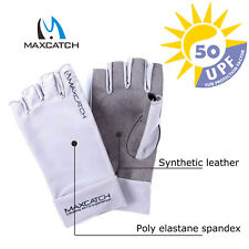 UV Protection Sports Gloves L/XL Fingerless Woman/Man Outdoor Fly Fishing