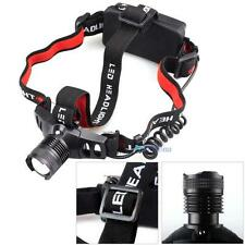4000LM CREE Q5 LED Zoomable Headlamp Headlight 3 Mode 18650/AAA Flashlight MT