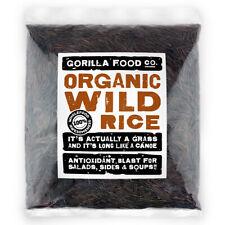 Gorilla Food Co. Organic Wild Rice - 200g-3.2kg
