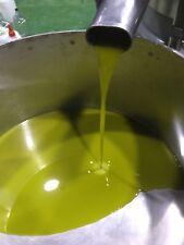5 Litri - Olio NOVELLO extravergine oliva estratto a freddo SARDEGNA 2018 bio