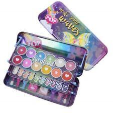 Girl beauty kit and makeup set with tin case