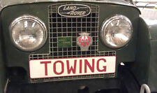 Land Rover Series 1 2 2a Breakdown Recovery Pressed Towing Plate Classic Vintage
