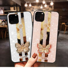 Bling Shockproof TPU Rhinestone Crystal Phone Case Cover for iPhone 11 Butterfly