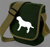 St Bernard Bag Shoulder Bags Saint Bernard Dog Walkers Bag Birthday Gift