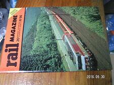1ùµ?  Revue Rail Magazine n°66 VH Keyser 111 à 400 du PLM   25Kv