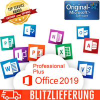 MS Office 2019 Professional Plus (Pro Plus) - Aktivierungsschlüssel Key