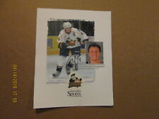 Ahl Peoria Rivermen 2005-06 Autographed #4 Rocky Thompson Journal Star Poster