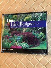 Complete LandDesigner 3D Design Collection by Sierra Home Cd-Rom