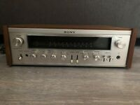 Vintage Sony STR-7055 Silver Face Wood Stereo Receiver