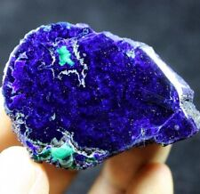 Blue sky Polished Azurite with Malachite display mineral China CM780611