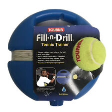 Tourna Fill-n-Drill Tennis Trainer, Training Aid Ball With Elastic Cord, NEW!