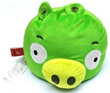 "Angry Birds Green Pig Pillow Plush Microbead bean bag large stuffed animal 13"""
