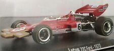 1/43 LOTUS 72C FORD 1970 Jochen Rindt F1 FORMULA 1 COCHE DE METAL A ESCALA