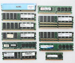 Ram Memory PC DDR 256Mb 512Mb 1Gb ADATA Kingston GEIL