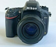 Nikon D600 with AF-S 50mm Lens / Extra Batteries / Low Shutter Count: 9143