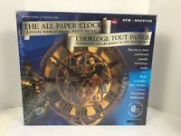 Wrebbit The All Paper Clock The Peace Tower 3D Model Kit New Sealed Box