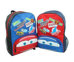 Disney Cars Cartoon Childrens Kids Toddlers Preschool Nursery Backpack Bag tbag8