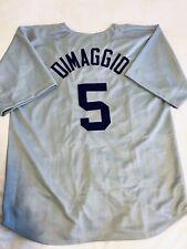 Joe DiMaggio Custom Grey Baseball Jersey Mens Size XL Stitched
