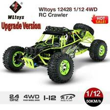 Upgrade WLTOYS 12428 1:12 2.4G RC Car 50km/h Off-Road Monster Truck Crawler Toy❤