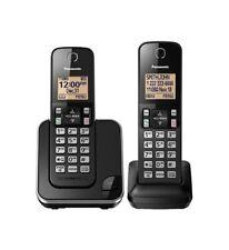 Panasonic KX-TGC352B Expandable Cordless Phone with Amber Backlit Display - 2